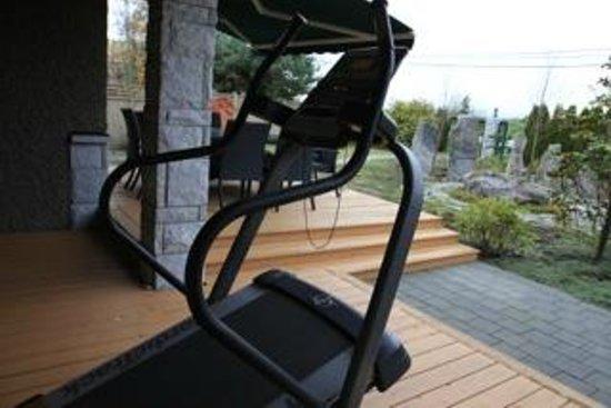 Riverside Garden Bed and Breakfast : Treadmill