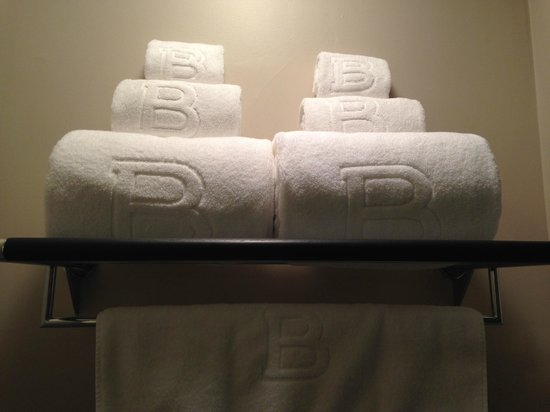 The Inn At St Botolph: Towels
