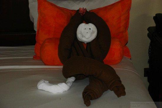 Arenal Manoa Hotel: Towel Monkey