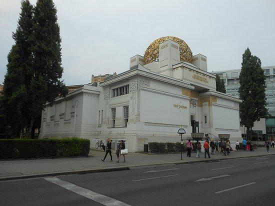 Secession Building (Secessionsgebaude) : Esterno