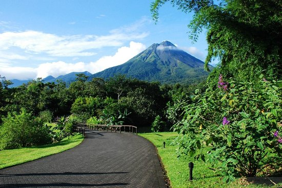 Arenal Manoa Hotel: View from the Restaurant