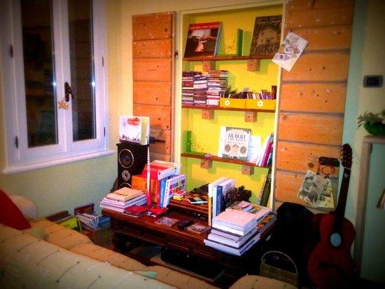 Bed & Breakfast Casa Pascolone: la libreria