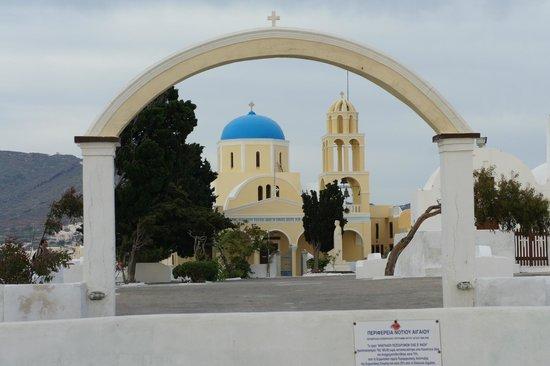 Monastery of Profitis Ilias: so beautiful