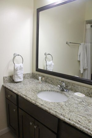 Bluebeard's Beach Club and Villas: bathroom counter