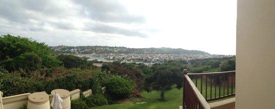 Panorama Guest House: Uitzicht vanaf ontbijtzaal!