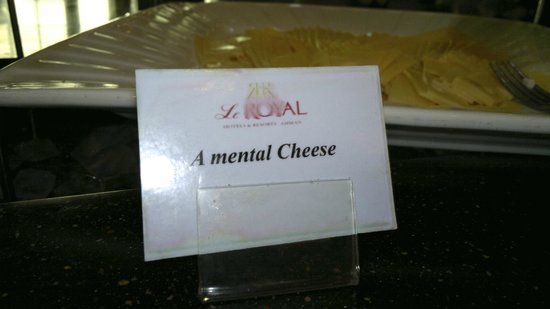 Le Royal Hotel Amman: Good for the brain...
