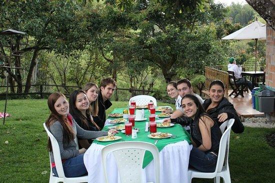 Siete Cueros Lodge : ideal para compartir con amigos