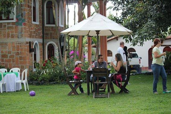 Siete Cueros Lodge : jardines
