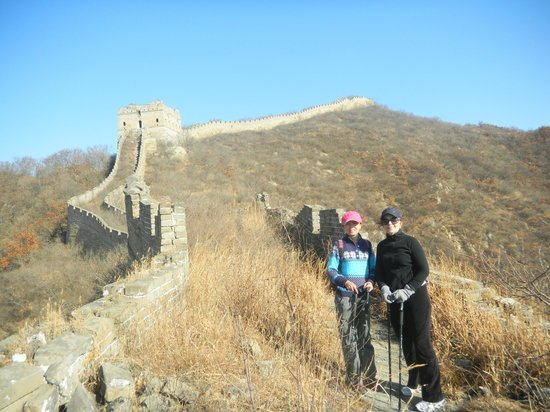 Stretch-A-Leg Travel-Day Tour: Great Wall hiking with Jean