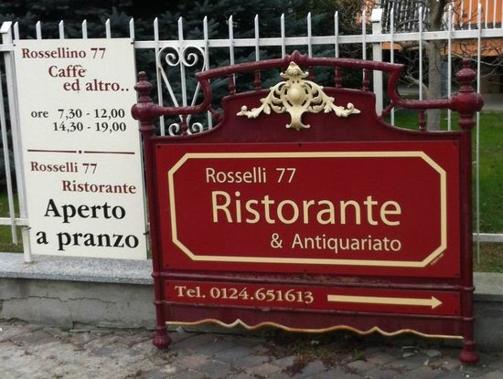 Rosselli 77, Ristorante & Antiquariato : Ristorante & Antiquariato
