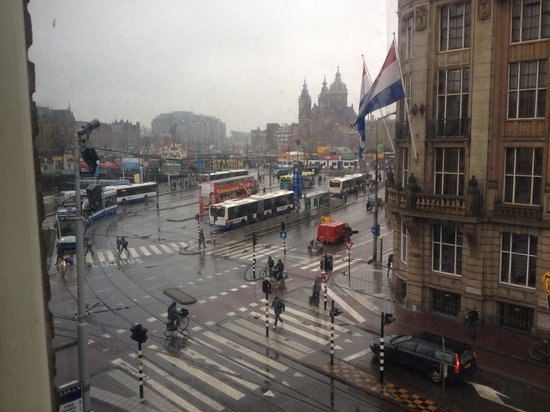 Ibis Styles Amsterdam City: View from outside our room window