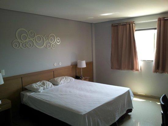 Sofisticatto Park Hotel: Vista parcial do quarto