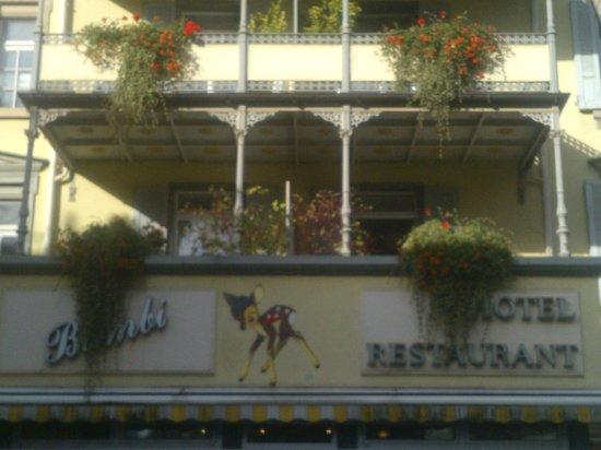 Hotel Bambi : entrance
