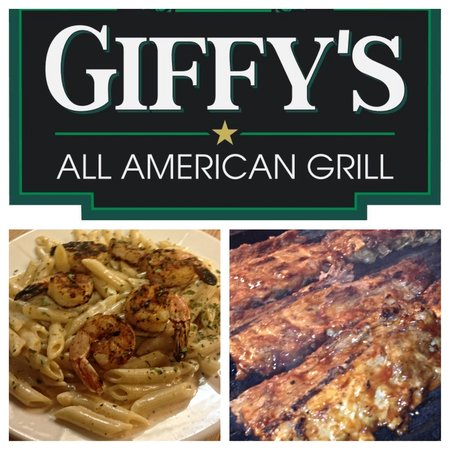 Giffy's Bar-B-Q: Favorites like Baby Back Ribs and Chipotle Shrimp Pasta