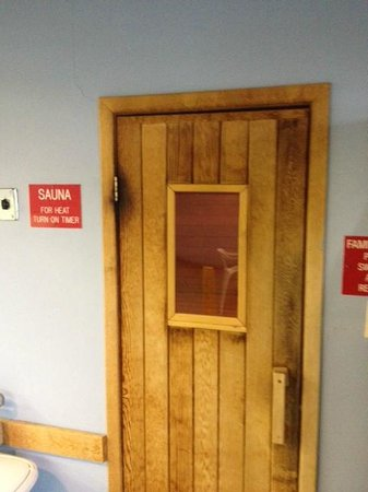 Travelodge Belfast Central: sauna