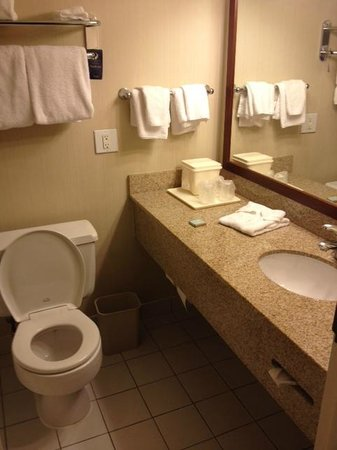 Travelodge Belfast Central : salle de bain