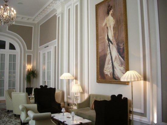 Hotel Maria Cristina, a Luxury Collection Hotel, San Sebastian : salon de te