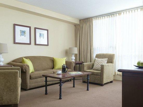 One Bedroom Suite Livingroom Picture Of Chelsea Hotel Toronto Toronto Tripadvisor