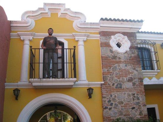 Hotel Posada San Pedro : balconcito en habitacion