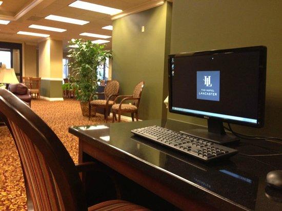 The Hotel Lancaster: Free Buusiness Center