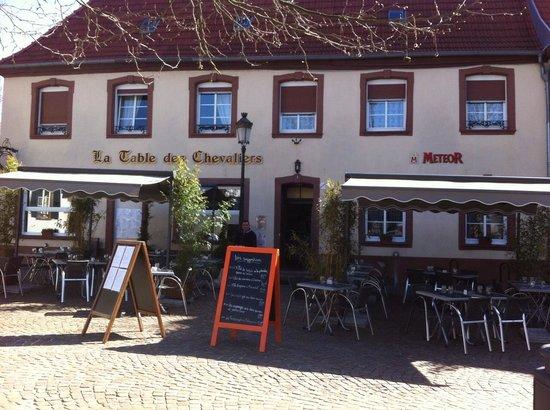 La table des chevaliers haguenau restaurant avis for Restaurant au jardin haguenau