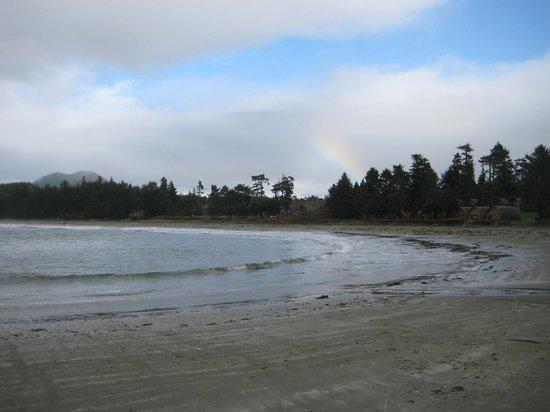 Best Western Tin Wis Resort: beach looking north