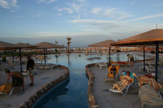Harmony Makadi Bay Hotel & Resort: У бассейна