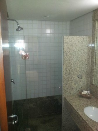 Comfort Suites Brasília: Vista do banheiro