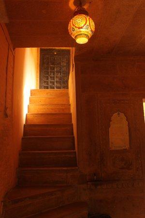 Hotel Deep Mahal: Entrance to Deep Mahal