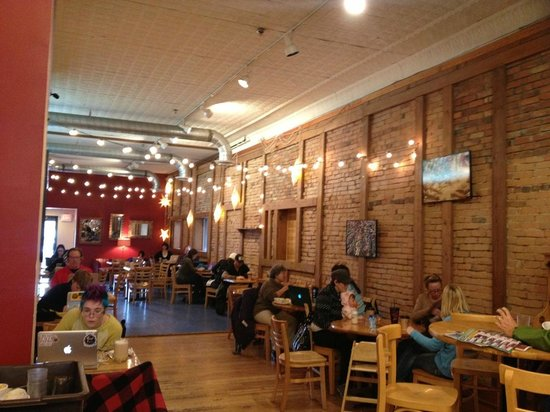 Montana Coffee Traders: Dining area fall 2013