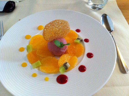 Restaurant La Regence-Balavaud: Dessert