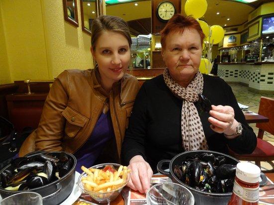 Leon de Bruxelles: французский семейный обед