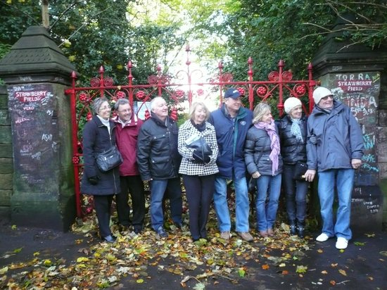 Daytrippers Beatles Taxi Tours: Essex vist to Strawberry Fields