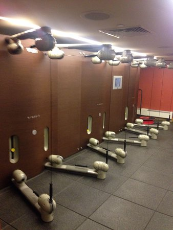 West 57th Street by Hilton Club: New and interesting Kinesis machines