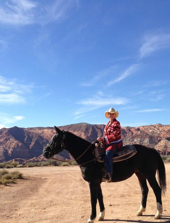 Snow Canyon Trail Rides : A gentle ride