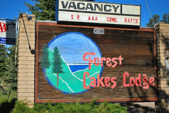 Forest Lakes Lodge : Arizona's best kept Secret