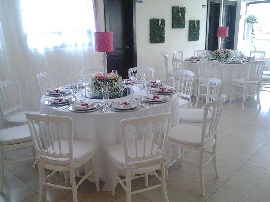 Hotel Del Carmen: Salon de Eventos