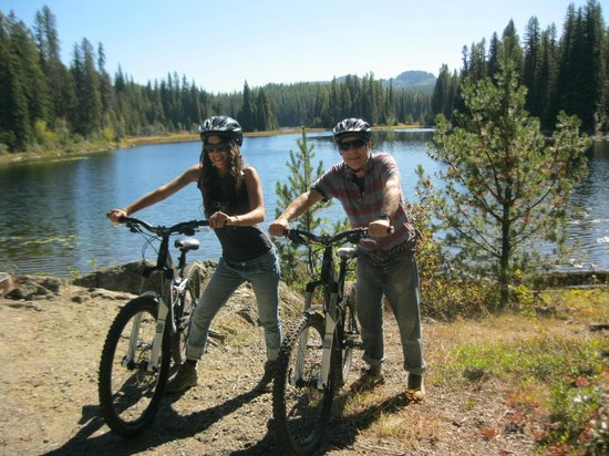 Footsteps Eco Adventures - Day Tours: Just one of the great places we biked with Leah