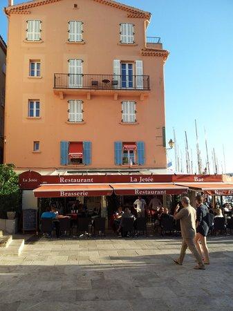 Bar Brasserie La jetee : mooie restaraunt