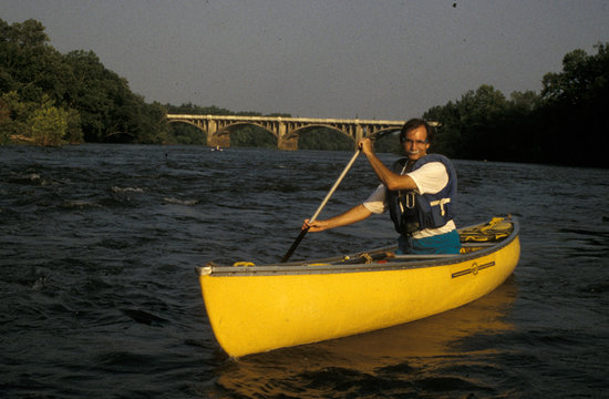 West Columbia, Южная Каролина: Canoeing on the Saluda River