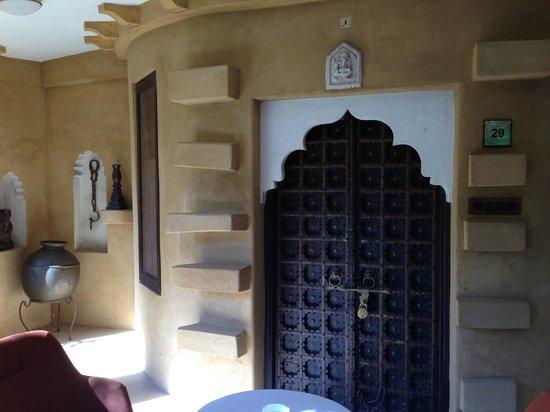 Ajit Bhawan: The cottage
