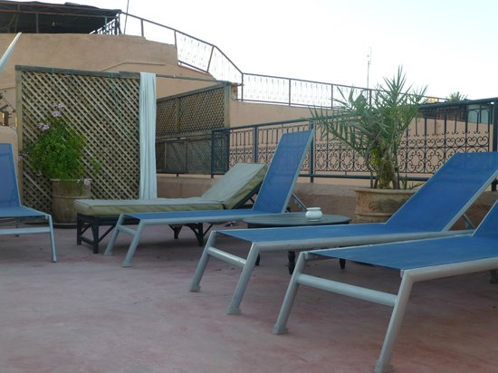 Riad Dar Nimbus : terasse repos