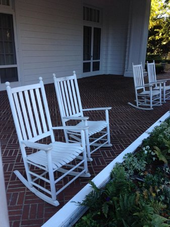 Duke Mansion Bed and Breakfast: A Southern favorite - rocking chairs on the front porch allow you to relax