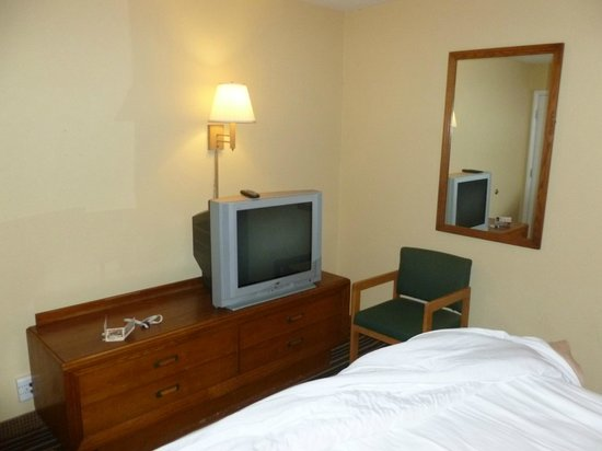 Days Inn Henrietta/Rochester Area: Old TV but worked well