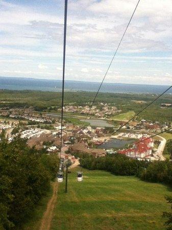 Westin Trillium House Blue Mountain: View from gondola ride