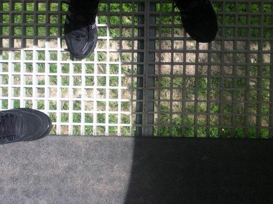 Westin Trillium House Blue Mountain: The floor of our gondola
