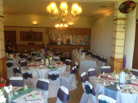 Kingsknowe Golf Club: Wedding reception