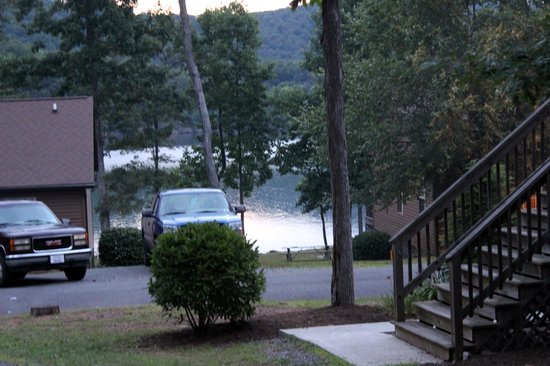 Lake Raystown Resort, an RVC Outdoor Destination: Lake view from the Villas
