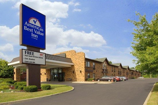 Americas Best Value Inn: Exterior With Sign