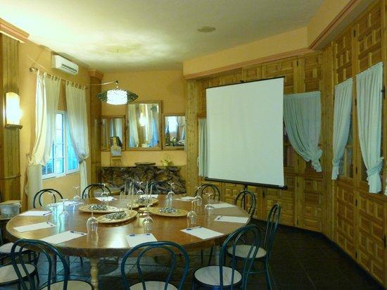 Hotel Sierra Madrona: Sala de reuniones